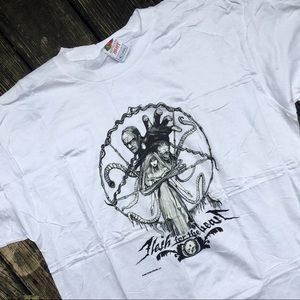 Rare Deadstock 2005 Flesh For The Beast Graphic T